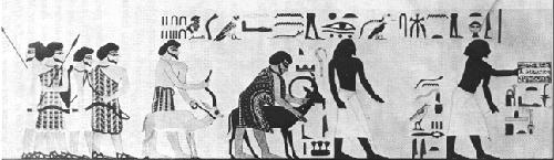 Les relations entre les noirs et les juifs de l'antiquité Offrandes-semite
