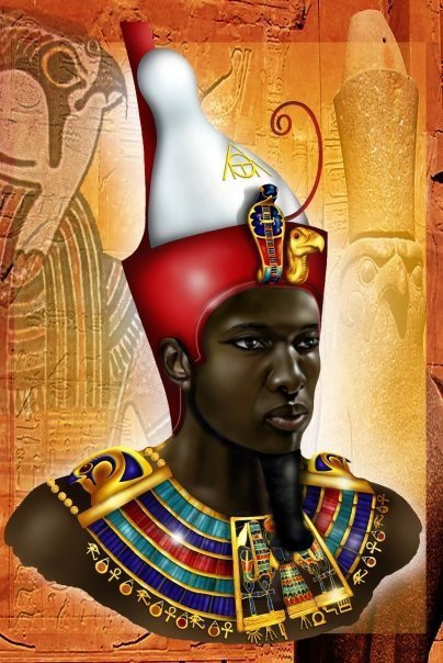 Les pharaons étaient noirs origine des anciens égyptiens Pharaon-degypte