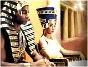 Les relations entre les noirs et les juifs de l'antiquité Pharaon-reine-egypte