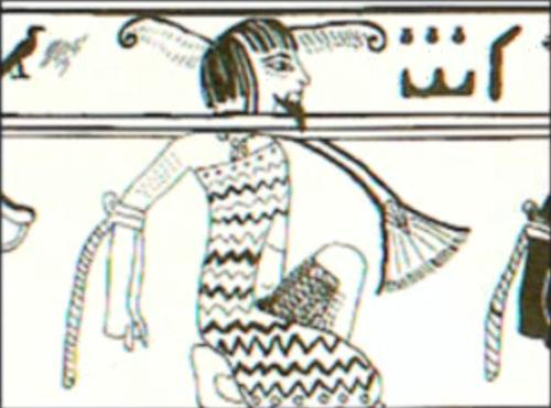 Les pharaons étaient noirs origine des anciens égyptiens Prisonnier-pharaon-egyptien-ancien